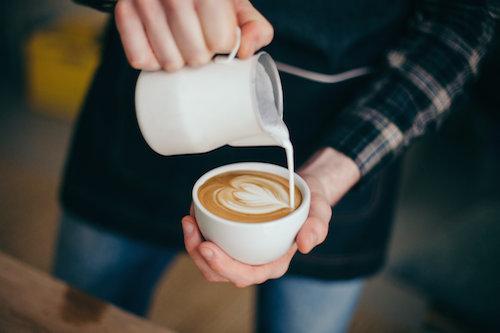 mobile kaffeebar Herz
